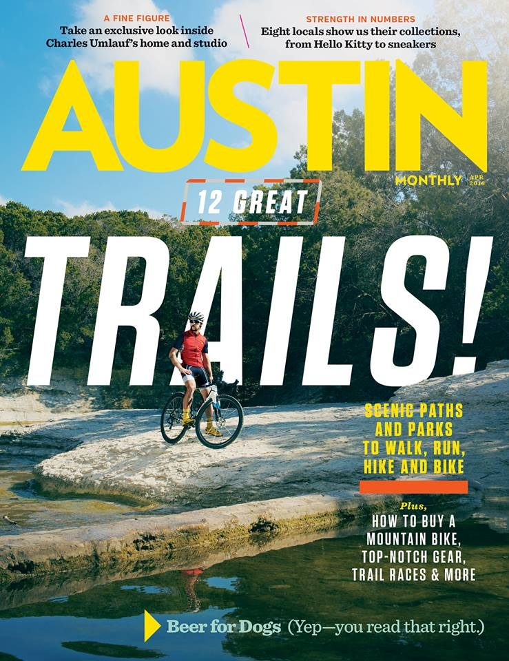 Austin Monthly Trails Cover