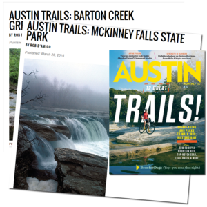 Austin Monthly Trails Articles